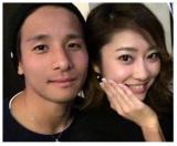 結婚を発表した大阪・松田陸選手&モデル・七菜香(写真はブログより)