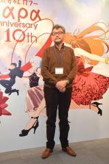 株式会社「カラー」10周年記念展プレス内覧会に出席した庵野秀明氏 (C)ORICON NewS inc.