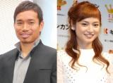 「アモーレ」が話題となった(左から)長友佑都、平愛梨 (C)ORICON NewS inc.