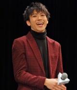 映画『ぼくは明日、昨日のきみとデートする』完成披露舞台あいさつに出席した山田裕貴 (C)ORICON NewS inc.