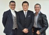 「同世代を生きてきた自負がある」と語った(左から)中井貴一、陣内孝則、柳葉敏郎 (C)ORICON NewS inc.
