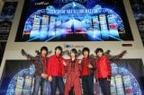 東海地区発イケメングループMAG!C☆PRINCE(マジックプリンス)、23日に中部国際空港に開催された『Centrair Sky Illumination』点灯セレモニーに登場