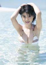 『ヤングジャンプ』センターグラビアに登場する馬場ふみか (C)熊谷貫/週刊ヤングジャンプ