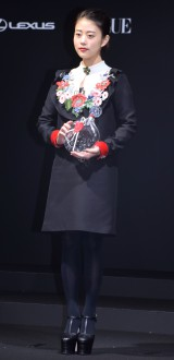 『VOGUE JAPAN Women of the Year 2016』の授賞式に出席した高畑充希 (C)ORICON NewS inc.