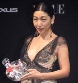 『VOGUE JAPAN Women of the Year 2016』の授賞式に出席した安藤サクラ (C)ORICON NewS inc.