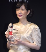 『VOGUE JAPAN Women of the Year 2016』の授賞式に出席した村田沙耶香氏 (C)ORICON NewS inc.