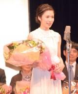 松岡茉優=『第40回山路ふみ子映画賞』贈呈式 (C)ORICON NewS inc.