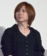 Acid Black Cherryのyasu=映画『L−エル−』初日舞台あいさつ (C)ORICON NewS inc.