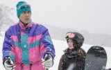 阿部寛は撮影で、30年ぶりにスキーに挑戦したとか (C)2016「疾風ロンド」製作委員会
