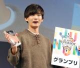 『ジュノン・スーパーボーイ・コンテスト』グランプリに輝いた押田岳さん(C)ORICON NewS inc.