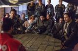 NHK大河ドラマ『真田丸』第47回「反撃」(11月27日放送)より。又兵衛(哀川翔)や勝永(岡本健一)らの豊臣家への怒りは頂点に達する
