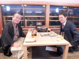 桂文珍師匠と千原ジュニアの対談が実現。『ちはらくご〜ジュニアが知りたい噺家の世界〜』関西テレビで11月27日放送(C)関西テレビ