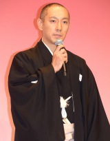 『六本木歌舞伎−第ニ弾−』の製作発表会見に出席した市川海老蔵 (C)ORICON NewS inc.