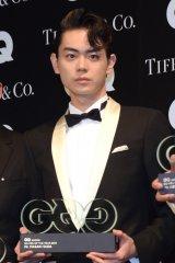 『GQ MEN OF THE YEAR 2016』授賞記者会見に出席した菅田将暉 (C)ORICON NewS inc.