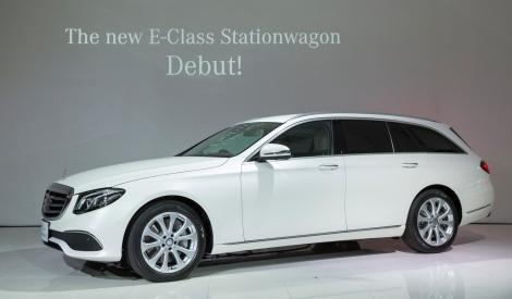 メルセデス・ベンツのベストセラーモデル「Eクラス ステーションワゴン」がデザイン・機能性ともに一新された