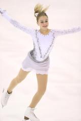 『フィギュアスケートISUジュニアグランプリシリーズ』日本大会に出場するロシアのフェディチキナ選手