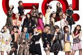 E-girls(写真提供:テレビ朝日)