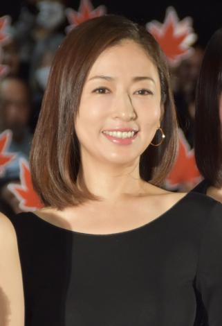 映画『古都』初日舞台あいさつに出席した松雪泰子 (C)ORICON NewS inc.