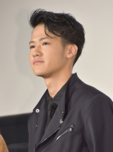 映画『古都』初日舞台あいさつに出席した葉山奨之 (C)ORICON NewS inc.