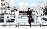 2014年コラボ時に羽海野チカ氏が描き下ろしたBUMP OF CHICKENメンバー