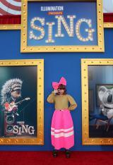 アニメ映画『SING/シング』のワールドプレミアの模様(C)Universal Studios.