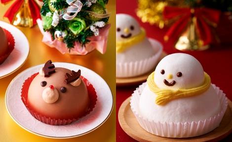つぶらな瞳がキュートなセブン−イレブンのクリスマス向けムースケーキ