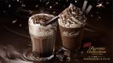 マックカフェからチョコレートづくしのドリンクがホットとフラッペで登場