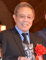 『平成28年度 ゆうもあ大賞』授賞式に登壇した北島三郎 (C)ORICON NewS inc.
