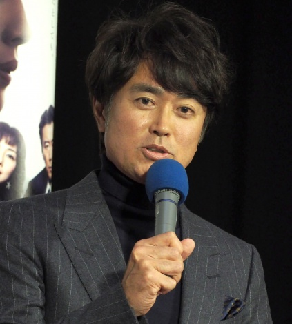 NHK・BSプレミアムのドラマ『女の中にいる他人』の試写会に出席した石黒賢 (C)ORICON NewS inc.