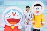 12月9日放送、テレビ朝日系『ドラえもん』織田信成とドラえもんが「びっくりラッキーマンボ!」で夢のコラボ(C)藤子プロ・小学館・テレビ朝日・シンエイ・ADK