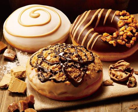 """""""第4のチョコ""""「ブロンドチョコレート」を使った新ドーナツが続々"""