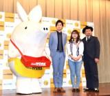 『キャンパスライフ プラス・ワン』ファイナルコンテストに出席した(左から)ジョブーブ、山添寛、山崎ケイ、ケンドーコバヤシ (C)ORICON NewS inc.