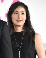 映画『恋妻家宮本』完成披露舞台あいさつに出席した天海祐希 (C)ORICON NewS inc.