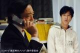【場面写真】伝説の殺し屋を演じる香川照之(左)と貧乏役者に扮する堺雅人(映画『鍵泥棒のメソッド』より)