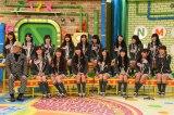 12月22日放送、『NMBとまなぶくんSP』ドン小西氏とNMB48(C)関西テレビ