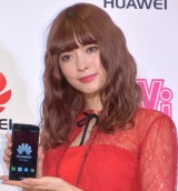 『HUAWEI Brand Experience CAFE Supported by ViVi』オープン記念イベントに出席した八木アリサ (C)ORICON NewS inc.