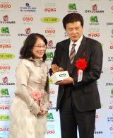 『第41回 報知映画賞』表彰式で主演男優賞を受賞した三浦友和 (C)ORICON NewS inc.