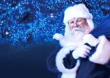 """青い衣装を着た""""青サンタ""""が登場/イベント『青の洞窟SHIBUYA WHITE CHRISTMAS』(23日より3日間)/イメージ"""