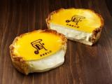 看板メニューの『焼きたてチーズタルト<レア・ミディアム>』