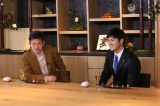 キングカズと大谷翔平が初対談。スペシャル番組『あなたの夢、何ですか?〜KAZU×大谷翔平』12月25日深夜にテレビ朝日で放送(C)テレビ朝日