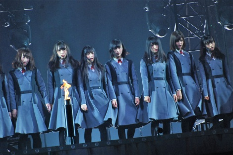 欅坂46が東京・有明コロシアムで初のワンマンライブを開催
