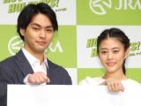 初共演となった(左から)柳楽優弥、高畑充希 (C)ORICON NewS inc.