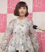 AKB48劇場で卒業公演を開催した島崎遥香 (C)ORICON NewS inc.