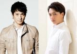 フジテレビ『突然ですが、明日結婚します』に出演が決まった(左から)沢村一樹、山崎育三郎