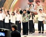 CM曲「みんながみんな英雄」を披露するAI=『第67回紅白歌合戦』リハーサル2日目より (C)ORICON NewS inc.