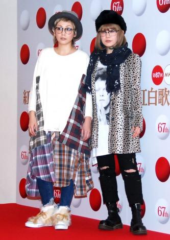 PUFFY(左から)吉村由美、大貫亜美=『第67回紅白歌合戦』リハーサル2日目より (C)ORICON NewS inc.