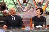 『ワイドナショー 元旦SP』に出演する(左から)松本人志、ベッキー (C)フジテレビ