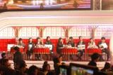 審査委員席が高級感のあるソファー仕様に・・・『第67回NHK紅白歌合戦』※画像は一部加工しております (C)ORICON NewS inc.