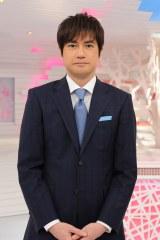 『羽鳥慎一モーニングショー』メインキャスターの羽鳥慎一アナウンサー (C)テレビ朝日