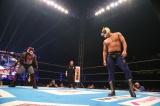 新日本プロレス1・4東京ドームのリングで2人のタイガーマスクが激突(C)新日本プロレス